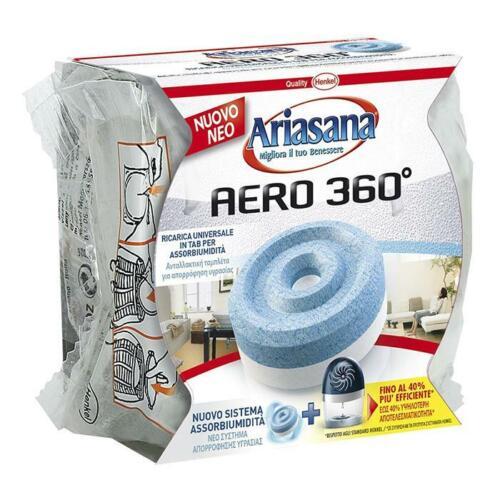 PASTICCA ARIASANA RICARICA TAB INODORE PER Kit Aero 360° 450g ASSORBIUMIDITA/'