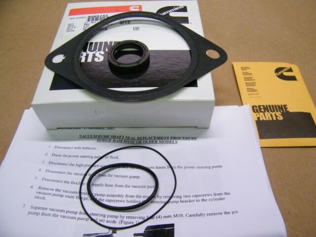 Dodge Ram Cummins 5.9 Vacuum Pump Seal Kit #16