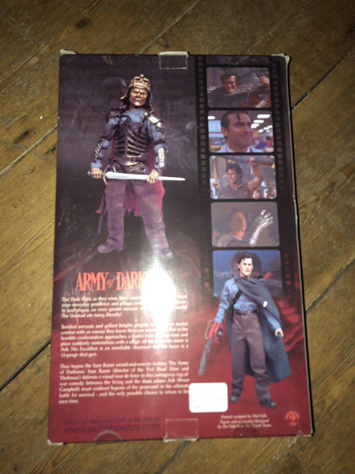Sideshow Evil Dead Army Army Army of Darkness Ash AF SSC 199 6a7560