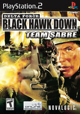 Delta Force Black Hawk Down Team Sabre PS2 Playstation