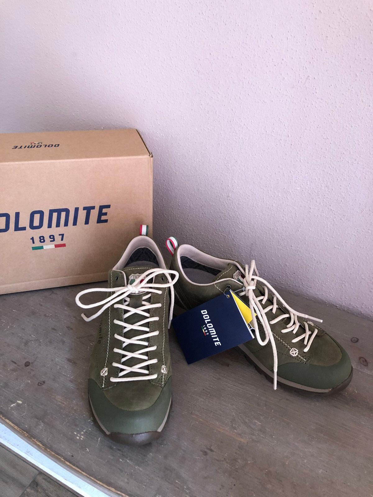 Dolomite cinquantaquattro zapatillas zapato bajo cuero Navy verde 37,5 NP 159,95
