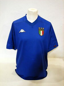 47440437425 ITALY KAPPA very rare home shirt EURO 2000 QUALIFICATIONS player ...