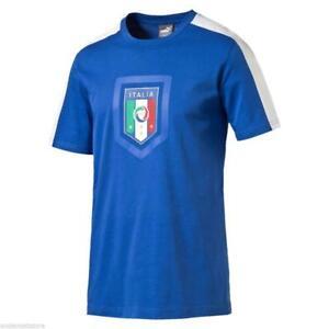 Maglia-nazionale-italiana-T-shirt-Calcio-Puma-Figc-fanwear-Uomo-Taglia-M-L-XL
