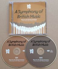 A Symphony Of British Music 2012 Olympic Games 2x Cd Queen Bowie Spice Girls Etc