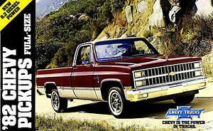 Details About 1982 Chevy Pickup Truck Brochure C10 K10 4x4 C20 K20 4x4 C30 Pickup Silverado