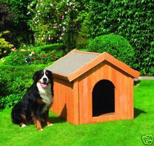 hundeh tte 114x102x96 cm f gro e hunde w rmeisoliert 4012379035251 ebay. Black Bedroom Furniture Sets. Home Design Ideas