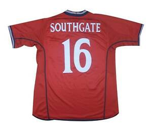 England 2002-04 Authentic Away Shirt Southgate #16 (Excellent) L