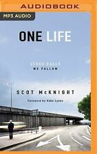 One. Life : Jesus Calls, We Follow by Scot McKnight (2016, MP3 CD, Unabridged)
