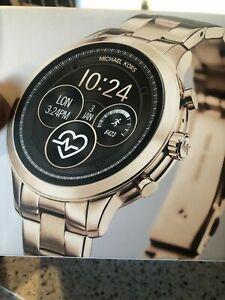 Details About Michael Kors Access Runway Smartwatch 41mm Stainless Steel Gold Mkt5045