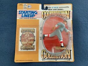 1994 BABE RUTH (COOPERSTOWN) BOSTON RED SOX / NEW YORK YANKEES STARTING LINEUP