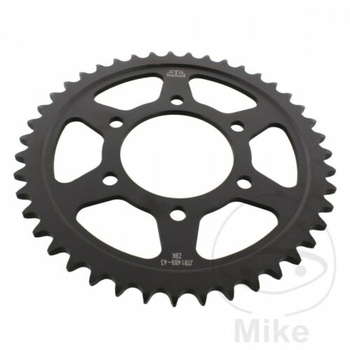 JT Rear Sprocket 43T 525P JTR1489.43ZBK Black Kawasaki ZX10R 1000 J 2014