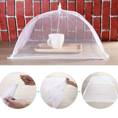Food Cover Up Screen Umbrella Mesh Table Cover Food Saver