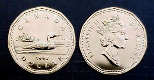 Canada-1990-Gem-UNC-Proof-Like-Gem-Loonie