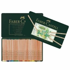 Faber-Castell-Pitt-Pastel-Pencil-Set-Artists-Colour-Sketching-Pencils-36-Tin