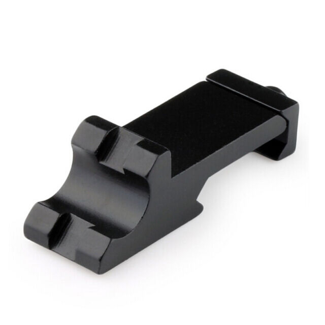 Offset Side Rail Mount 45 Degree Picatinny Weaver Angle Scope Sight MC