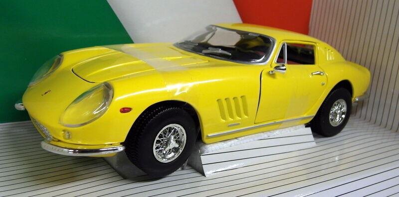 Ertl 1   18 - skala ferrari 275 gtb 4 - 7378 1966 gelb ein diecast modell - auto