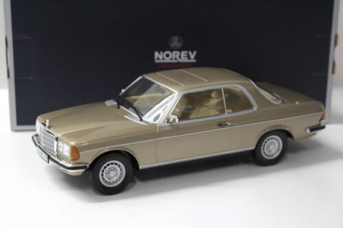 NEW bei PREMIUM-MODELCARS 1:18 Norev Mercedes 280CE Coupe 1980 Champagner-met