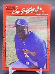 1990 Donruss Ken Griffey Jr #365-ERROR CARD -No DOT IN INC-rare