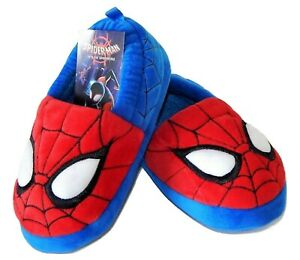 SPIDER MAN Slippers NWT