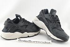 low priced 2fb56 dec03 Nike Air Huarache Run Premium Shoes Size 6 Black Light Bone 683818-010