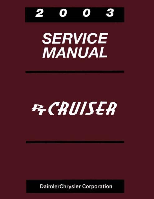 2003 Chrysler Pt Cruiser Shop Service Repair Manual