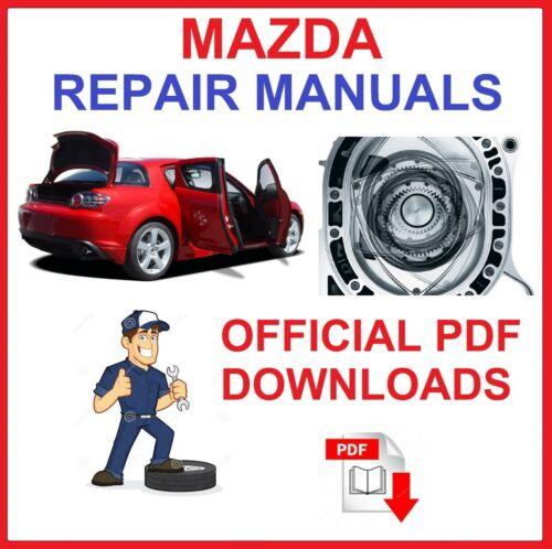MAZDA atelier de réparation manuels /& wiring diagrams Télécharger