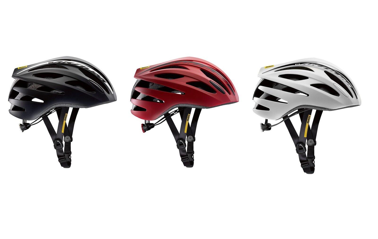 Mavic Aksium Elite Road Bike Bike Helmet Adjustable Vented, various colours