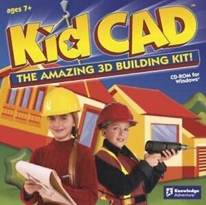 Kid-CAD-The-Amazing-3D-Building-Kit-for-Young-Engineers-Brand-New-Sealed