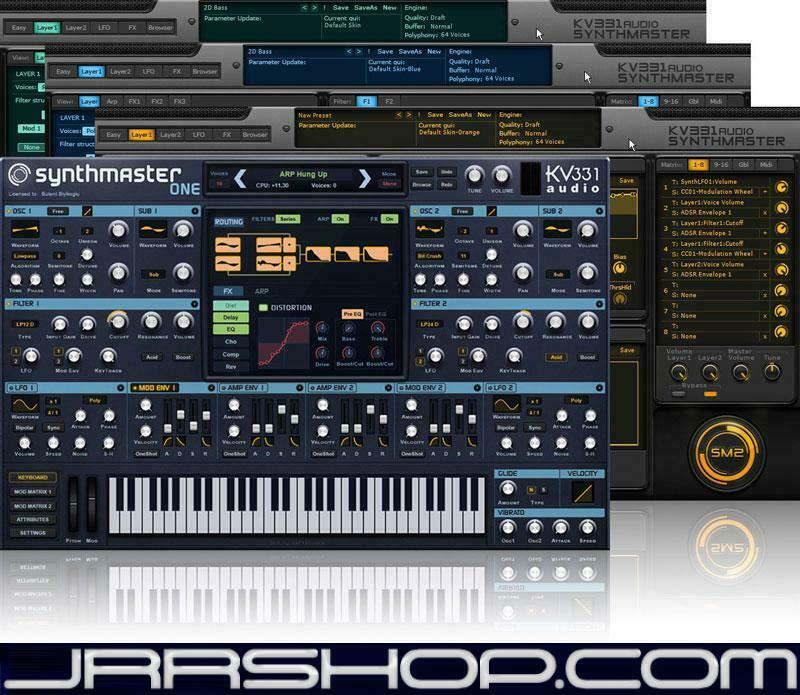 KV331 SynthMaster + SynthMaster One Bundle eDelivery JRR Shop