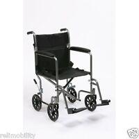 Drive Steel Travel Chair - Lightweight Folding Transit Wheelchair