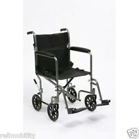 Drive Steel Travel Chair - Lightweight Folding Transit Wheelchair