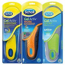 Scholl Insoles Gel Activ (Active) Work Everyday (Everyday) Sport Work Men Women