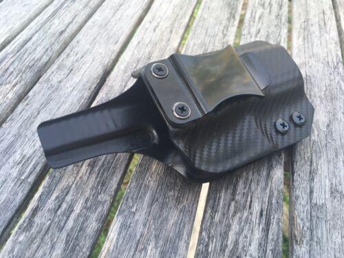 Details about  /Caloosa-Tactical Kydex Holster For Glock 19-23-32 Black Carbon Fiber IWB