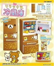 Re-Ment Rilakkuma Refrigerator miniature figure set Japan Import