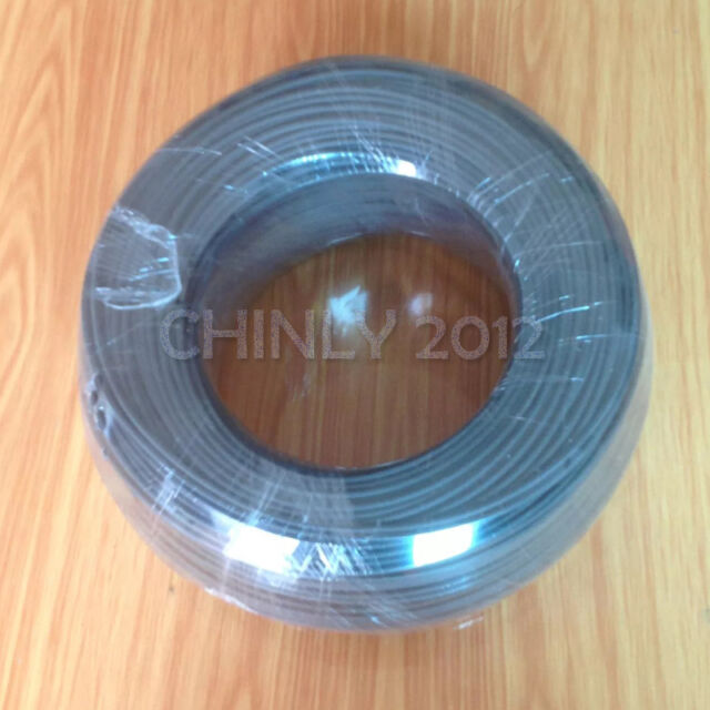 Black Cover Plastic End Glow Fiber Optic Cable 500m  High Bright 1.0mm Diameter