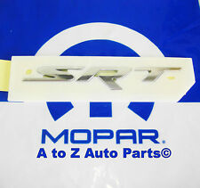 NEW 15-17 Dodge Challenger / Charger SRT CHROME Emblem / 3D Nameplate, OEM Mopar