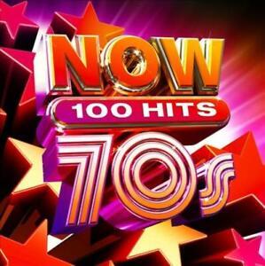 Jetzt 100 Hits 70s/verschiedene (5 CD) NEW CD