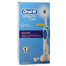 Braun Oral-B Vitality 3D White Rechargeable Electric Toothbrush 2 Minute Timer