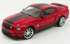 SHELBY-COLLECTIBLES 1/18 FORD USA   MUSTANG SHELBY GT 500SS SUPER SNAKE 2008 ...