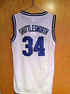 e342f33690f4 Jesus Shuttlesworth  34 Lincoln He Got Game Basketball Jersey White ...
