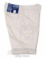 Womens Bandolino Jeans Cargo Bermuda Shorts Samantha Roll Up Khaki Stone 6 14 16