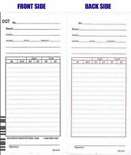 1000 Count Time Cards for the Acroprint ES1000 Form ES1010(replaces 09-9111-000)