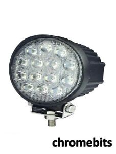 4 X Puissant 36 W Front Bull Nudge Bar /& Spot Smd DEL Lumières 12 V Lampe Voiture SUV 4x4