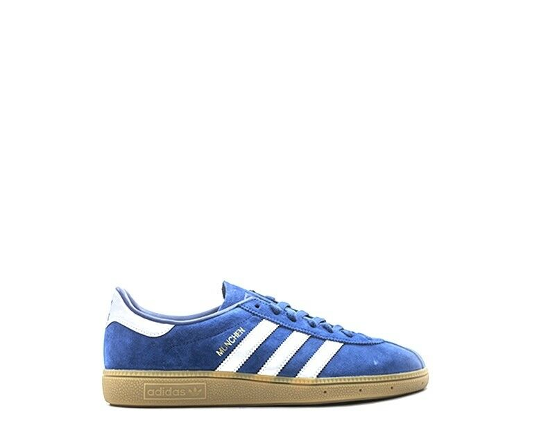 Shoes ADIDAS Man BLU Suede BY9791