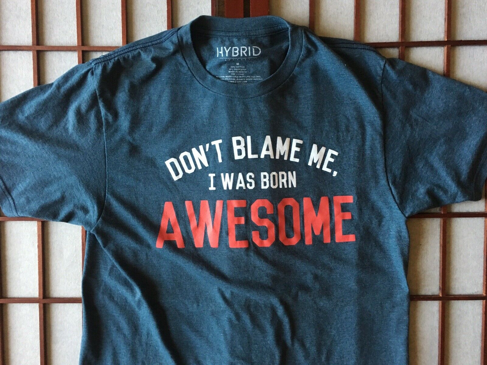 Don't Blame Me I Was Born Awesome Graphic Funny B… - image 3