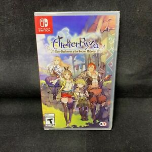 Atelier Ryza : Ever Darkness & the Secret Hideout (Switch) BRAND NEW / US Ver.