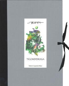 Sergio-Toppi-TICONDEROGA-speciale-serigrafia-Ed-Crapapelada-Papel