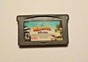 Nintendo-Gameboy-Advance-MADAGASGAR-No-Manual-No-Box-Tested