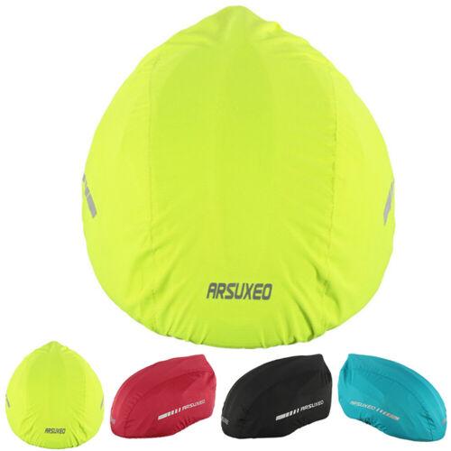 Fahrradhelm Überzug Helmüberzug Mit Reflektoren Regenüberzug Regen Schutz Helm