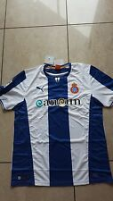 Puma Espanyol Barcelona  Trikot neu Größe M weiß/blau Wunschflock Name möglich